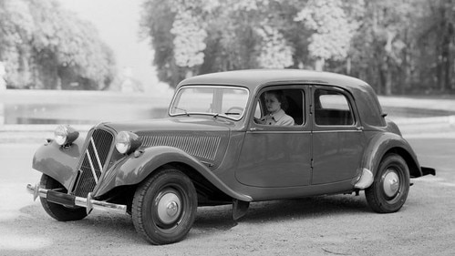 Produktionsende des CITROËN Traction