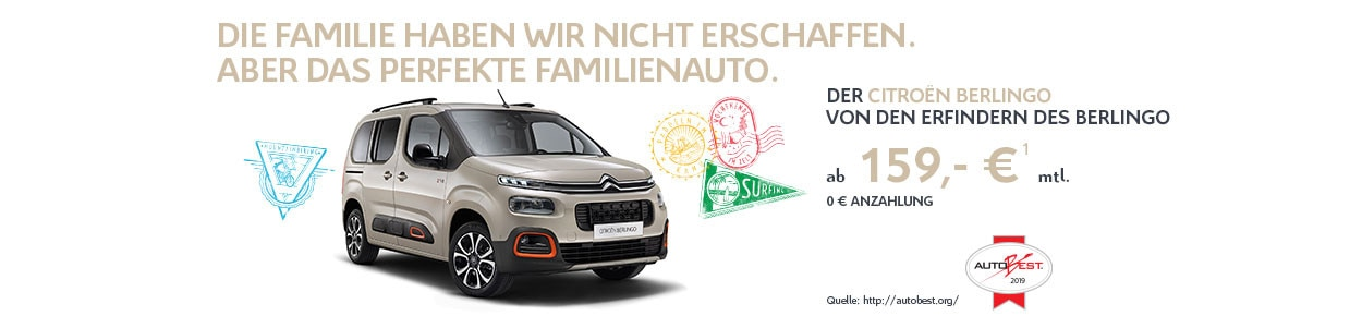 Citroën Berlingo Privatkundenangebot