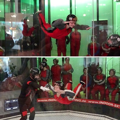 o	Citroën Adventure Pass – Indoor Skydiving - Team Oliver