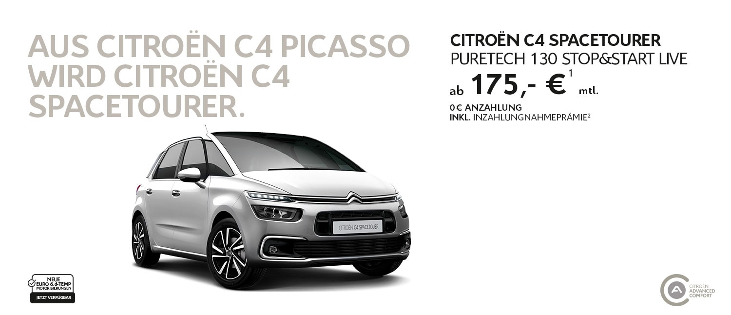 Citroën C4 SpaceTourer Privatkundenangebot