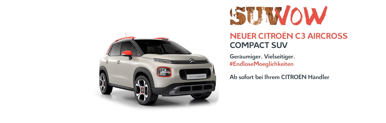 CITROËN C3 Aircross Compact SUV