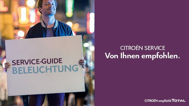 Service-Guide Beleuchtung