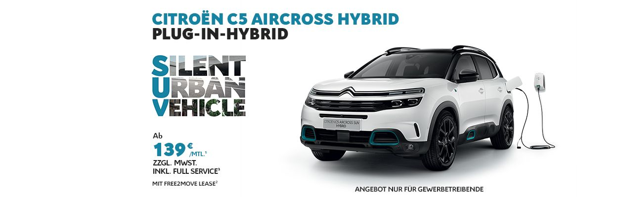 Businessangebot Citroën C5 Aircross SUV Hybrid