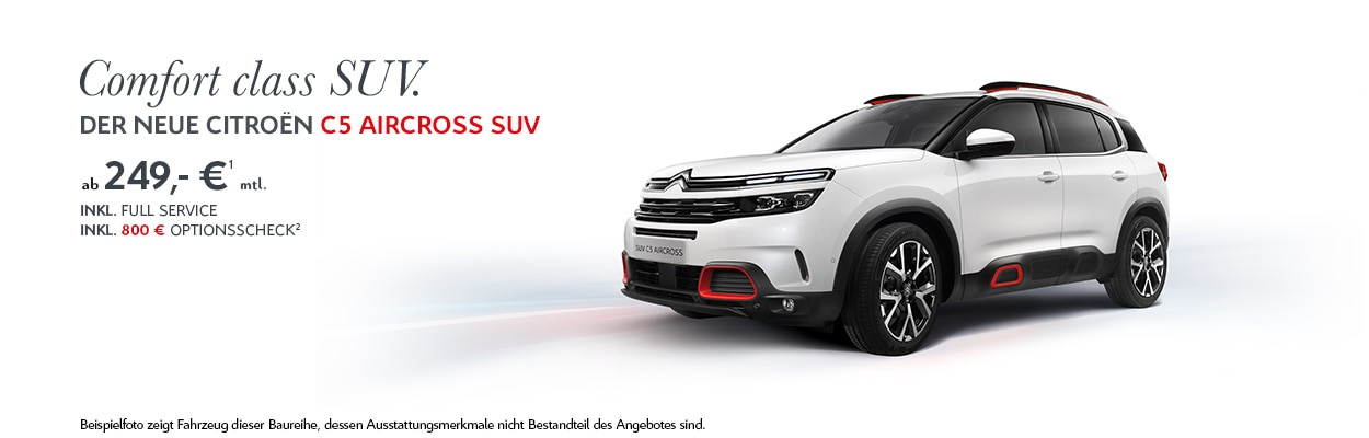 Citroën C5 Aircross Privatkundenangebot