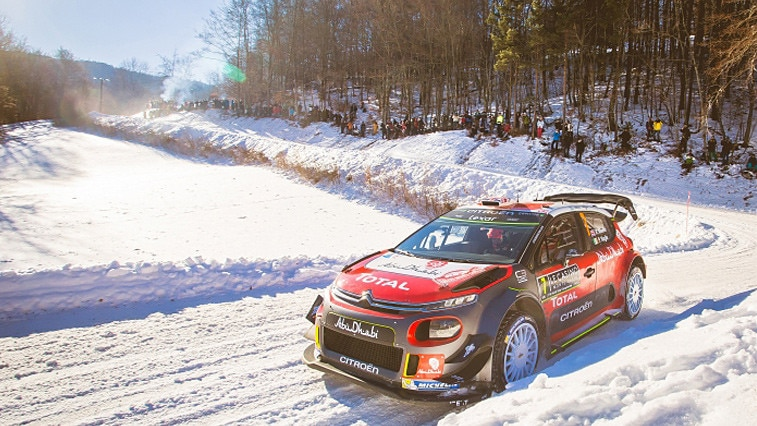 Wintersport Citroën C3 WRC