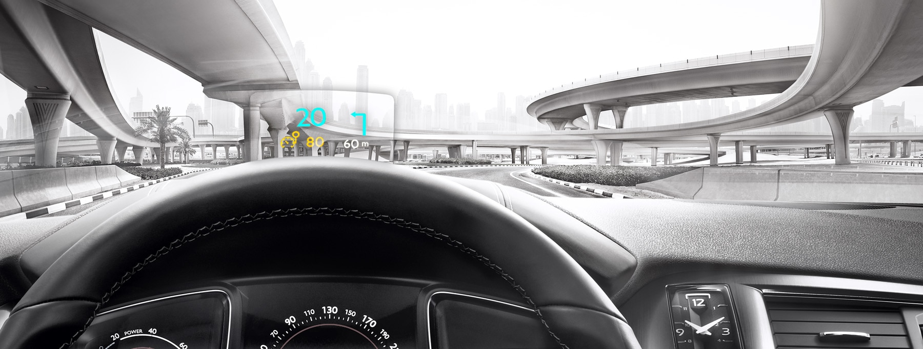 Sicherheit – Head-Up Display