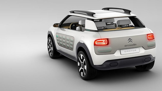 Concept Car CITROËN Cactus – Funktionales Design